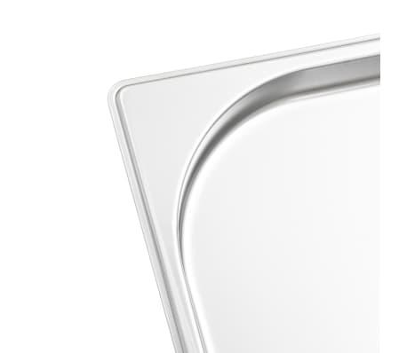 vidaXL bradepander 4 stk. GN 1/1 20 mm rustfrit stål[7/10]