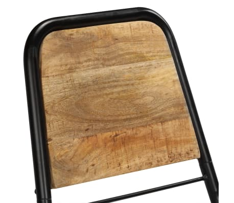 vidaXL Dining Chairs 2 pcs Solid Mango Wood[8/14]