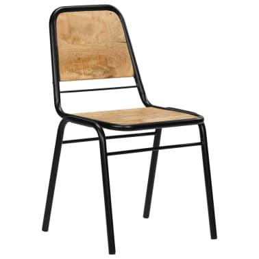 vidaXL Dining Chairs 2 pcs Solid Mango Wood[13/14]