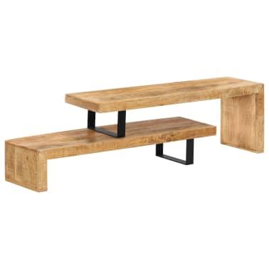 vidaXL TV Stand Solid Mango Wood[1/17]