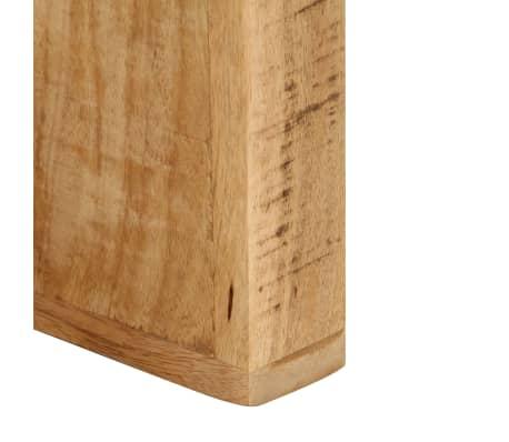 vidaXL TV Stand Solid Mango Wood[12/17]
