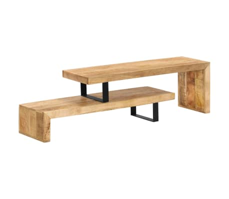 vidaXL TV Stand Solid Mango Wood[15/17]