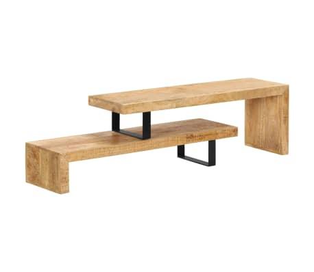 Basic Tv Meubel.Vidaxl Tv Stand Solid Mango Wood Vidaxl Com
