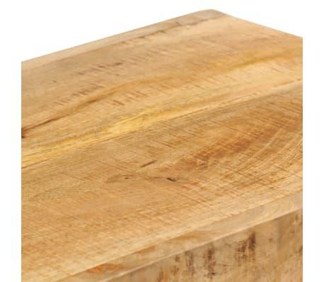 vidaXL TV Stand Solid Mango Wood[10/17]