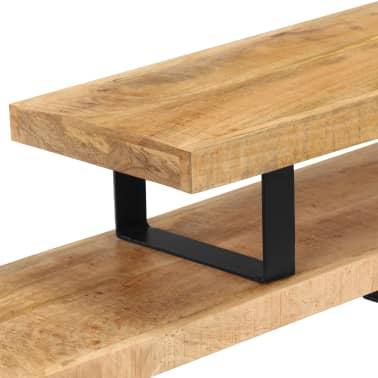 vidaXL TV Stand Solid Mango Wood[11/17]
