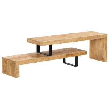 vidaXL TV Stand Solid Mango Wood[17/17]