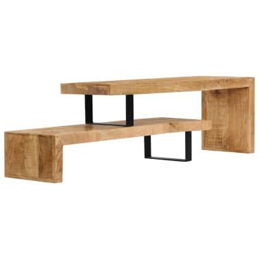 vidaXL TV Stand Solid Mango Wood[4/17]