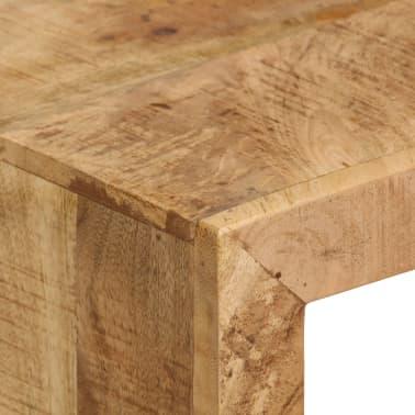 vidaXL TV Stand Solid Mango Wood[9/17]