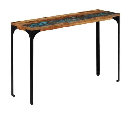vidaXL Console Table 120x35x76 cm Solid Reclaimed Wood