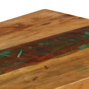 vidaXL Konsolinis staliukas, 120x35x76cm, perdirbtos med. masyvas[5/14]