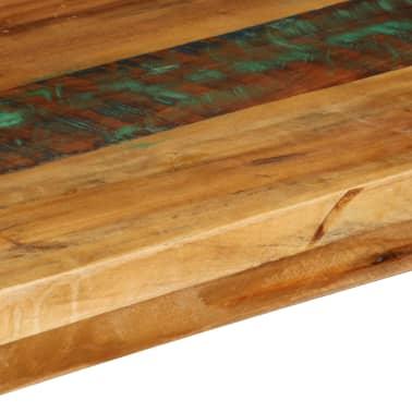 vidaXL Konsolinis staliukas, 120x35x76cm, perdirbtos med. masyvas[6/14]