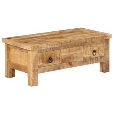vidaXL Kavos staliukas, 90x45x35 cm, mango medienos masyvas[1/13]