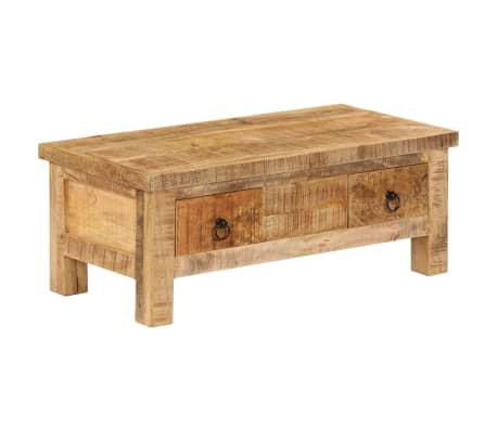 vidaXL Kavos staliukas, 90x45x35 cm, mango medienos masyvas[11/13]