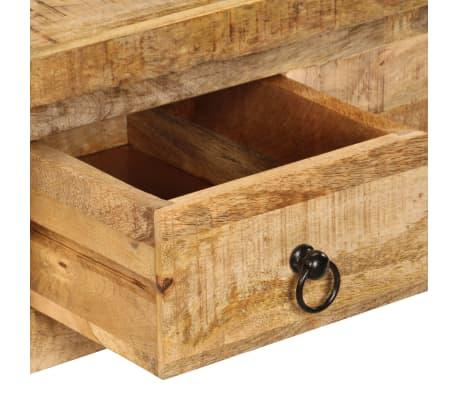 vidaXL Kavos staliukas, 90x45x35 cm, mango medienos masyvas[4/13]