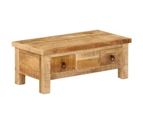 vidaXL Kavos staliukas, 90x45x35 cm, mango medienos masyvas[10/13]