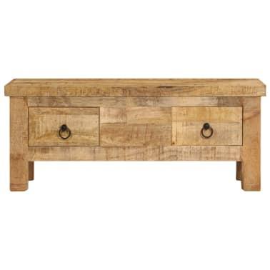 vidaXL Kavos staliukas, 90x45x35 cm, mango medienos masyvas[2/13]