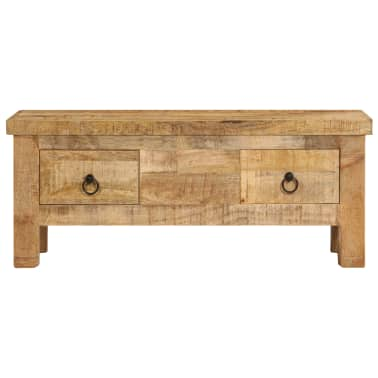 vidaXL Kavos staliukas, 90x45x35 cm, mango medienos masyvas[3/13]