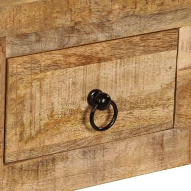 vidaXL Kavos staliukas, 90x45x35 cm, mango medienos masyvas[6/13]