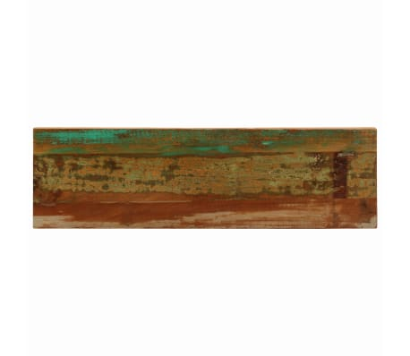 "vidaXL Console Table 47.2""x13.8""x29.9"" Solid Reclaimed Wood and Steel[5/11]"
