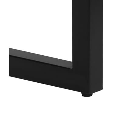 "vidaXL Console Table 47.2""x13.8""x29.9"" Solid Reclaimed Wood and Steel[7/11]"