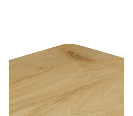 vidaXL Konsolinis staliukas, 120x35x76cm, mango med. mas. ir plien.[5/14]