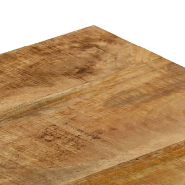 vidaXL Kavos staliukas, 110x50x35cm, mango med. mas. ir plienas[5/14]