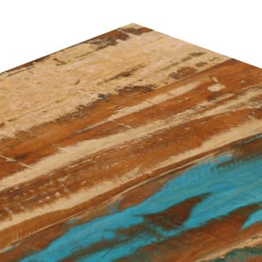 vidaXL Kavos staliukas, 100x50x35cm, perdirbt. mango mas. ir plienas[5/13]