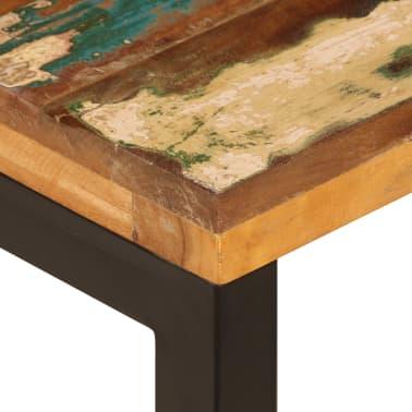 vidaXL Kavos staliukas, 100x50x35cm, perdirbt. mango mas. ir plienas[6/13]