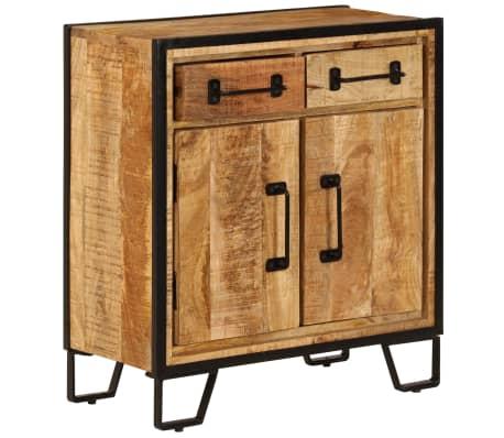 """vidaXL Sideboard 25.6""""x11.8""""x27.6"""" Solid Mango Wood[2/14]"""