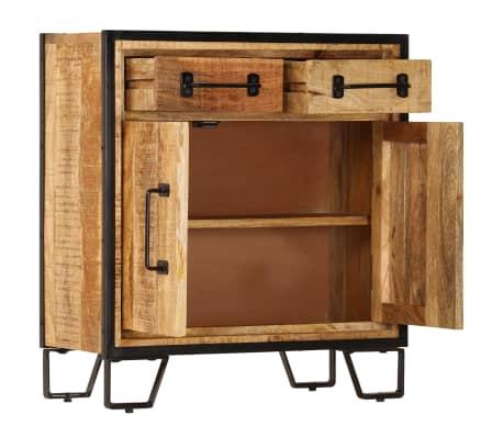 """vidaXL Sideboard 25.6""""x11.8""""x27.6"""" Solid Mango Wood[4/14]"""