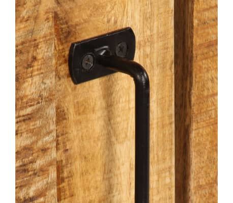 """vidaXL Sideboard 25.6""""x11.8""""x27.6"""" Solid Mango Wood[7/14]"""