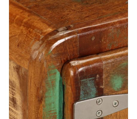 "vidaXL TV Cabinet 47.2""x11.8""x14.6"" Solid Reclaimed Wood[6/14]"