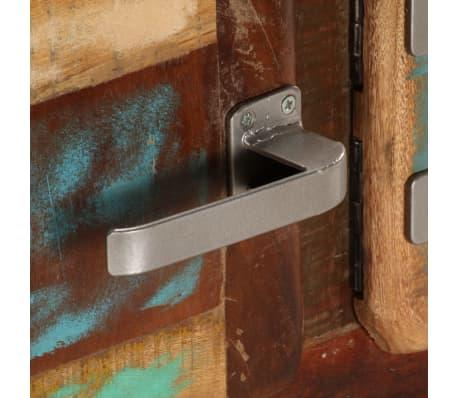 "vidaXL TV Cabinet 47.2""x11.8""x14.6"" Solid Reclaimed Wood[7/14]"