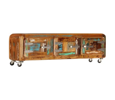 "vidaXL TV Cabinet 47.2""x11.8""x14.6"" Solid Reclaimed Wood[10/14]"