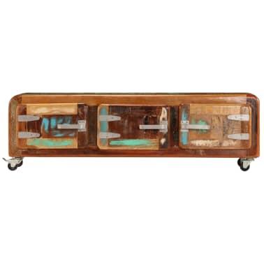 "vidaXL TV Cabinet 47.2""x11.8""x14.6"" Solid Reclaimed Wood[2/14]"