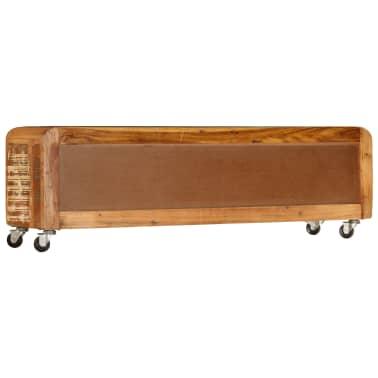 "vidaXL TV Cabinet 47.2""x11.8""x14.6"" Solid Reclaimed Wood[4/14]"