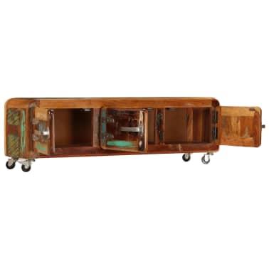 "vidaXL TV Cabinet 47.2""x11.8""x14.6"" Solid Reclaimed Wood[5/14]"
