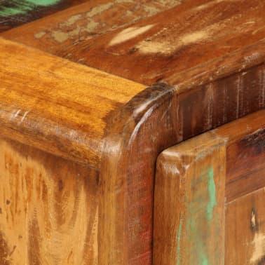 vidaXL Naktinė spintelė, 50x30x50 cm, perdirbtos medienos masyvas[5/14]