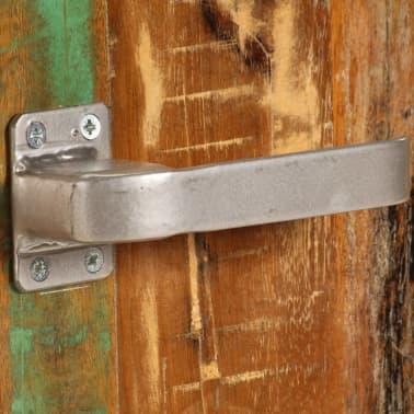 vidaXL Naktinė spintelė, 50x30x50 cm, perdirbtos medienos masyvas[6/14]