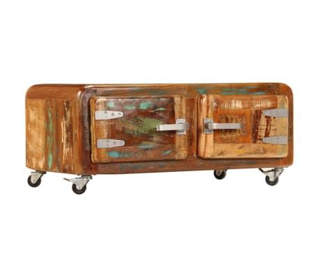 vidaXL Kavos staliukas, 85x55x40cm, perdirbtos medienos masyvas[12/14]