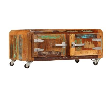 vidaXL Kavos staliukas, 85x55x40cm, perdirbtos medienos masyvas[13/14]