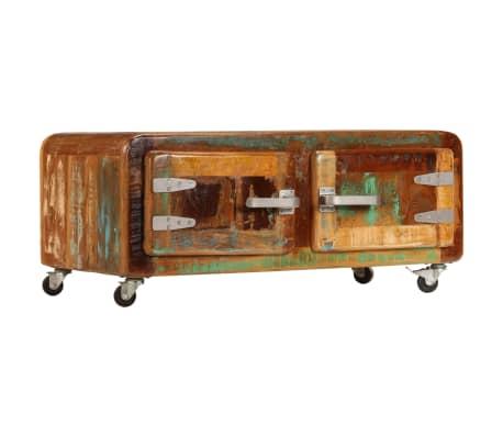 vidaXL Kavos staliukas, 85x55x40cm, perdirbtos medienos masyvas[14/14]