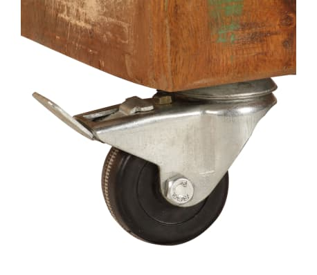 vidaXL Kavos staliukas, 85x55x40cm, perdirbtos medienos masyvas[8/14]
