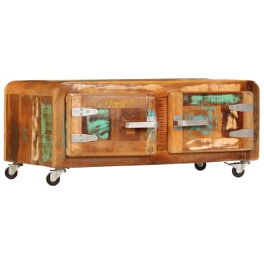 vidaXL Kavos staliukas, 85x55x40cm, perdirbtos medienos masyvas[11/14]