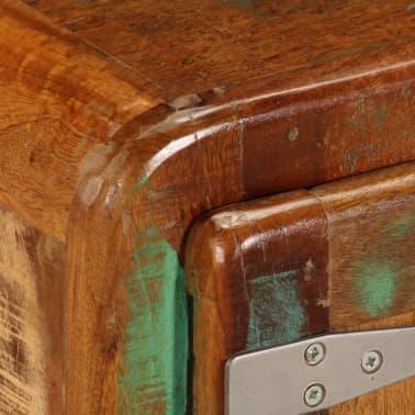 vidaXL Kavos staliukas, 85x55x40cm, perdirbtos medienos masyvas[5/14]