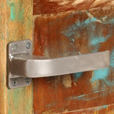 vidaXL Kavos staliukas, 85x55x40cm, perdirbtos medienos masyvas[6/14]