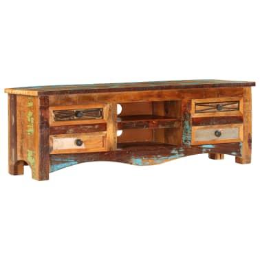 "vidaXL TV Cabinet 47.2""x11.8""x15.7"" Solid Reclaimed Wood[1/14]"