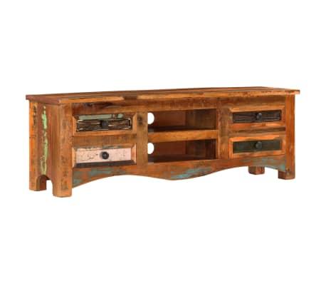 "vidaXL TV Cabinet 47.2""x11.8""x15.7"" Solid Reclaimed Wood[13/14]"