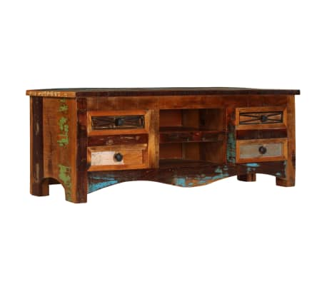 "vidaXL TV Cabinet 47.2""x11.8""x15.7"" Solid Reclaimed Wood[14/14]"