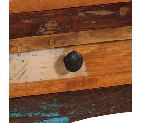 "vidaXL TV Cabinet 47.2""x11.8""x15.7"" Solid Reclaimed Wood[6/14]"